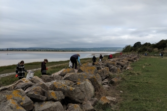 Severn Beach Clean