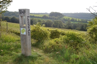 Laurie Lee Woods - Start of walk