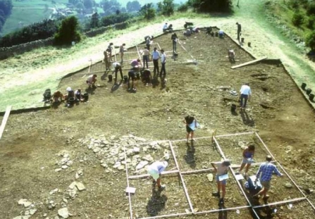 Crickley Hill archaeological dig